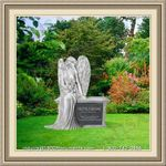 Angel Headstone 006