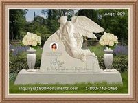 Angel Headstone 009