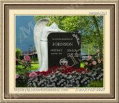 Angel Headstone 011
