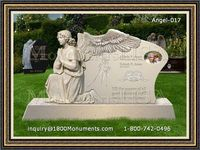 Angel Headstone 017
