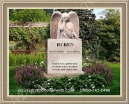 Angel Headstone 024