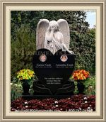 Angel Headstone 026