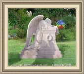 Angel Headstone 027