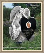 Angel Headstone 030
