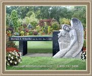 Angel Headstone 031