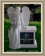 Angel Headstone 034
