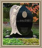 Angel Headstone 040