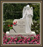 Angel Headstone 047