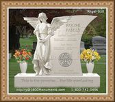 Angel Headstone 050