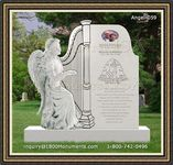 Angel Headstone 059