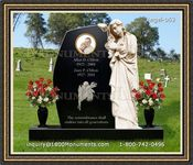 Angel Headstone 063