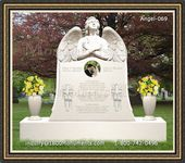 Angel Headstone 069