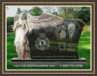 Angel Headstone 077