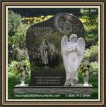 Angel Headstone 085
