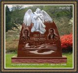 Angel Headstone 087