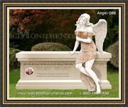 Angel Headstone 088