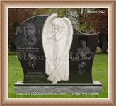 Angel Headstone 092