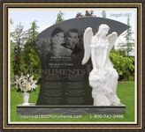 Angel Headstone 097
