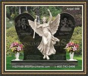 Angel Headstone 098