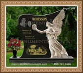 Angel Headstone 108