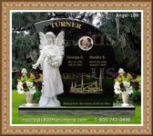 Angel Headstone 109