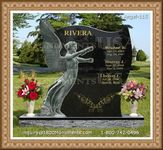 Angel Headstone 115