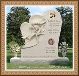 Angel Headstone 119