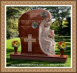 Angel Headstone 128