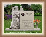 Angel Headstone 143