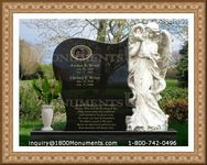 Angel Headstone 151