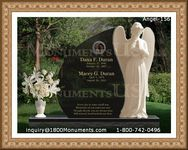 Angel Headstone 156