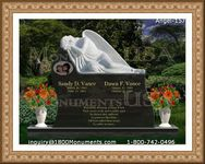 Angel Headstone 157