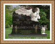 Angel Headstone 160