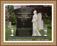 Angel Headstone 164