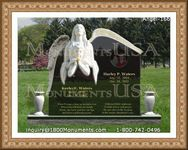 Angel Headstone 166