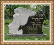 Angel Headstone 168
