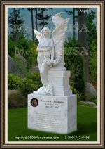 Angel Headstone 175