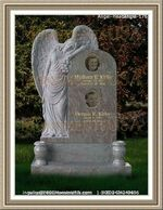 Angel Headstone 176