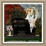 Angel Headstone 180