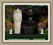 Angel Headstone 186