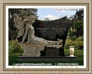 Angel Headstone 189