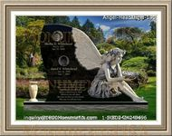 Angel Headstone 190