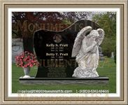 Angel Headstone 198