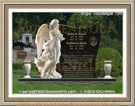 Angel Headstone 199