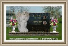 Angel Headstone 204