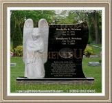 Angel Headstone 205