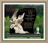 Angel Headstone 207