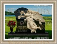 Angel Headstone 216