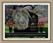 Angel Headstone 217