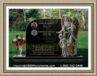 Angel Headstone 223